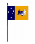 Australia Capital Territory Hand Flag - Small.